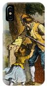 The Midnight Ride Of Paul Revere 1775 IPhone Case