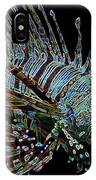 The Mighty Lion Fish IPhone Case