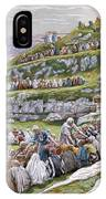 The Miracle Of The Loaves And Fishes IPhone Case