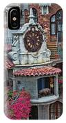 The Mission Inn Clock Tower IPhone Case