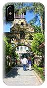 The Mission Inn Stage Coach Entrance IPhone Case