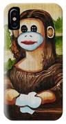 The Monkey Lisa IPhone Case