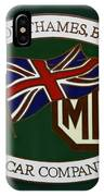 The Morris Garages IPhone Case