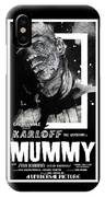 The Mummy 1932 Movie Poster  IPhone Case