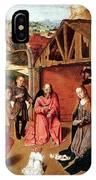 The Nativity By Gerard David  IPhone Case