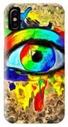 The New Eye Of Horus IPhone Case
