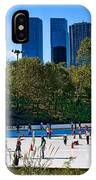 The New York Central Park Ice Rink  IPhone Case