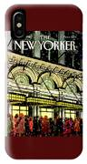 The New Yorker Cover - January 18th, 1988 IPhone X Case