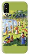 The New Yorker Cover - July 15th, 1991 IPhone X Case