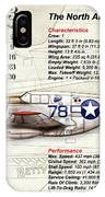 The North American P-51 Mustang V1 IPhone Case
