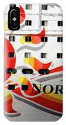 The Norwegian Sun Bow IPhone Case