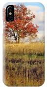 Red Oak Under November Skies IPhone X Case