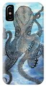 The Octopus 3 IPhone Case