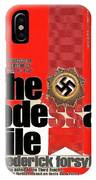 The Odessa File Frederick Forsyth Book Cover 1972 Color Added 2016 IPhone Case