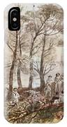 The Officers And Seaman Of The Fleet On Shore At Nargen IPhone Case