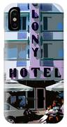 The Old Colony Hotel IPhone Case