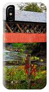The Old Creamery Covered Bridge IPhone Case