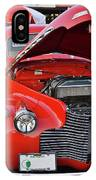 The Old Red Jalopy IPhone Case
