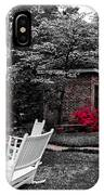 Smokehouse Red IPhone Case