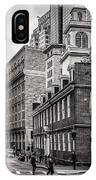 The Old State House IPhone Case