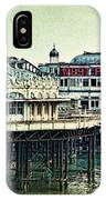The Old Victorian West Pier IPhone Case