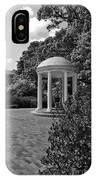 The Old Well At Chapel Hill In Black And White IPhone Case