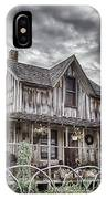 The Old Wood House Rogue Valley Oregon IPhone X Case