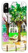 The Ole House In Spring IPhone Case