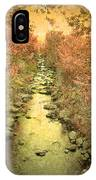 The Onset Of Autumn IPhone Case