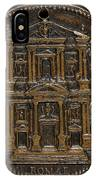 The Opening For Worship Of The Chiesa Del Gesu, Rome [reverse] IPhone Case