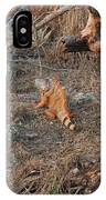 The Orange Iguana IPhone Case