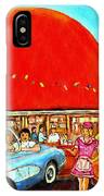 The Orange Julep Montreal IPhone Case