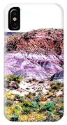 The Painted Desert  In Arizona IPhone Case