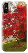 The Painted Leaves IPhone Case