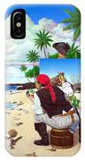 The Painting Pirate IPhone Case