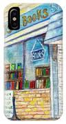 The Paperbacks Plus Book Store St Paul Minnesota IPhone Case