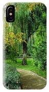 The Park Federico Garcia Lorca Is Situated In The City Of Granada, In Spain. IPhone Case