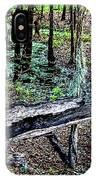 The Path By The Log IPhone Case