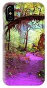 The Path Leads Ahead IPhone Case
