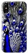 The Peacock Fan IPhone Case