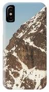 The Summit Of Mount Denali 19,000 Feet  IPhone Case