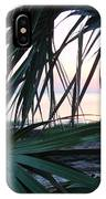The Peeking Palms IPhone Case