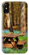 The Perfect Picnic Spot IPhone Case