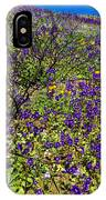The Phacelia Patch IPhone Case