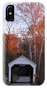 The Phillips Covered Bridge IPhone Case