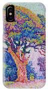 The Pine Tree At Saint Tropez IPhone Case