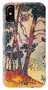 The Pine Wood, Provence IPhone Case