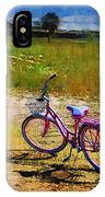 The Pink Bike IPhone Case