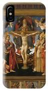 The Pistoia Santa Trinita Altarpiece IPhone Case