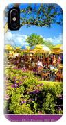The Plaza Magic Kingdom Walt Disney World IPhone Case